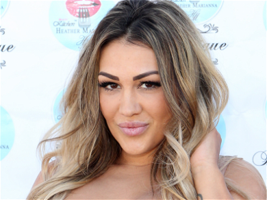 'Jersey Shore' Star Ronnie Ortiz-Magro's Ex Jen Harley Shows Off EPIC Burnout Skills In Mercedes Benz