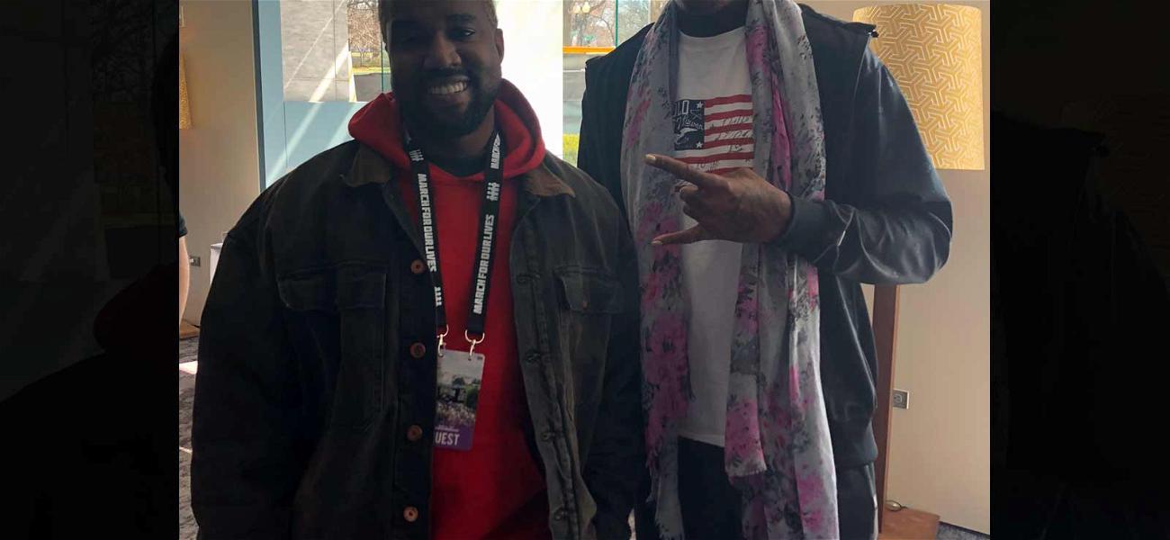 Kanye West & Dennis Rodman Bonded at 'March for Our Lives,' Shared Love for Chicago