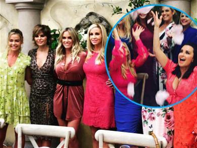 'RHOBH' Stars Celebrate Camille Grammer's Engagement