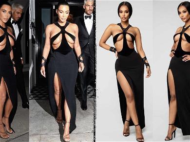 Kim Kardashian Rips Websites for Selling Knockoff Dress, Model's Instagram Proves Kim's Point
