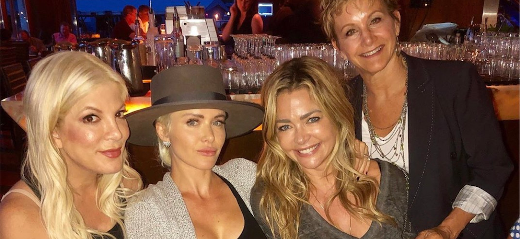'RHOBH' Star Denise Richards Joins '90210' Reboot, Dines With Tori Spelling and Shannen Doherty