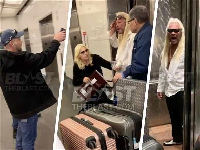 Dog the Bounty Hunter Investigated for Assault After Airport Confrontation with Hecklers Caught on Tape