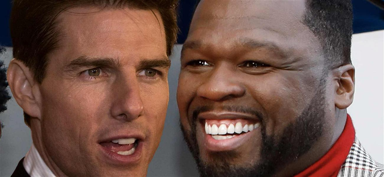 50 Cent Praises Tom Cruise For Giving His Golden Globes Back, Calls Him 'The Man'