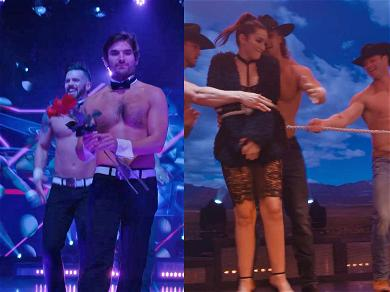 'Bachelor' Couple Jared Haibon and Ashley Iaconetti Get Sexy at Chippendales