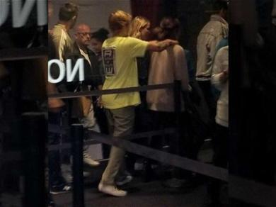 Justin Bieber Gets Handsy With Selena Gomez at Church