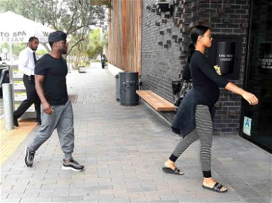 Kevin Hart and Eniko Parrish Out to Lunch Amid Extortion Scandal