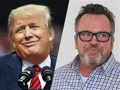 Tom Arnold Was Visited by Secret Service After Challenging President Trump to a Fight