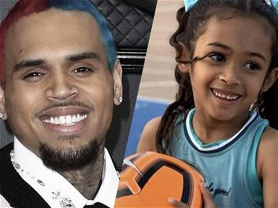 Chris Brown Shares Sweet Father/Daughter Moment At Royalty's Soccer Game