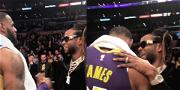 LeBron James Gifted a Diamond Chain by 2 Chainz After Passing Michael Jordan on All-Time Scoring List