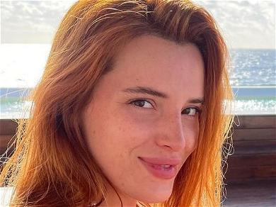 Bella Thorne Enjoys Girl-On-Girl With Buttocks Bare