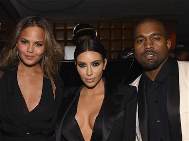 Chrissy Teigen Comes to Kim Kardashian's Rescue After Kanye West Says They're Getting 'Rid of Everything'
