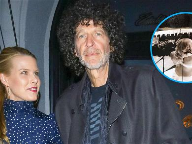 Howard Stern's Wife Beth Shares Rare Photo Of Their Wedding
