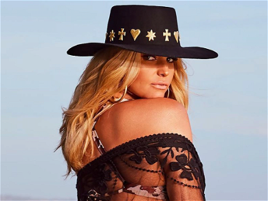Jessica Simpson Gets Cheeky With 100 Pound Weight Loss In Skimpy Animal Print Bikini Bottoms