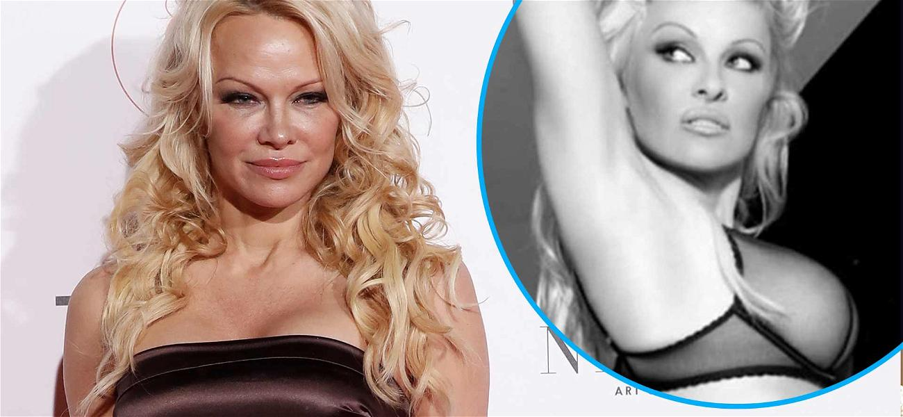 Pamela Anderson Stuns In Lingerie After Making Marriage To Jon Peters IG Official