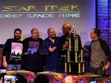 'Star Trek' Star Michael Dorn Recognized for Legendary Trekkie Run with Prestigious Trophy