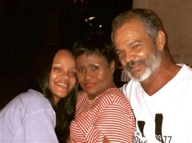Rhianna Gets Family Time with Mom & Dad During Barbados Trip