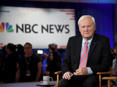 Chris Matthews' Grown Children And Wife Cried Backstage During His 'Hardball' Retirement