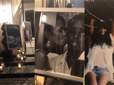Diddy Hosts Emotional Welcome Home Celebration for Kim Porter