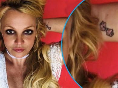 Britney Spears Crowned 'Queen Of Déjà Vu' After Teasing Dice Tattoo Removal Again
