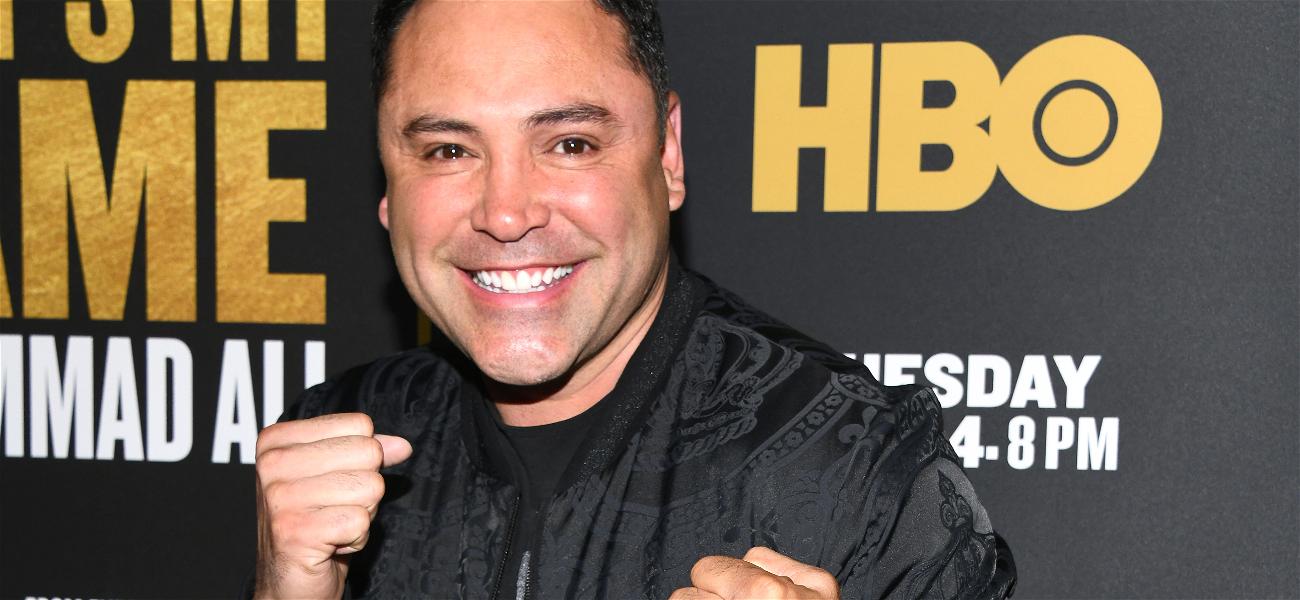 Oscar De La Hoya Sued By Famous Radio DJ, Claims 'Intoxicated' Boxer Forced Him Into Compromising Situations