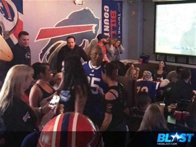 O.J. Simpson Is All Smiles as He Enjoys Bills and Babes