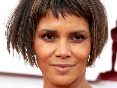 Halle Berry Laughs Off 'Oscar Bob' Critics With Much Longer Hair