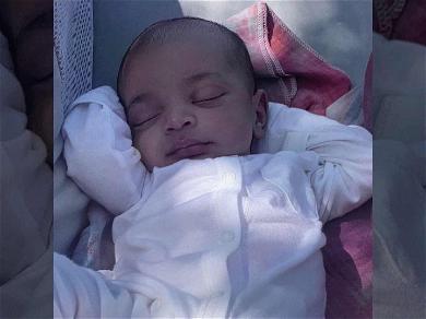Kim Kardashian Shows that Baby Psalm West Likes Naps … Just Like Daddy