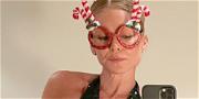 Kelly Ripa Dazzles Braless For Nice 'N Naughty Christmas