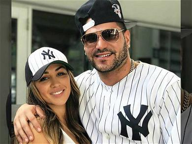 'Jersey Shore' Star Ronnie Ortiz-Magro Files Police Report Against Baby Mama, Claims She Smashed Him In the Face At Strip Club