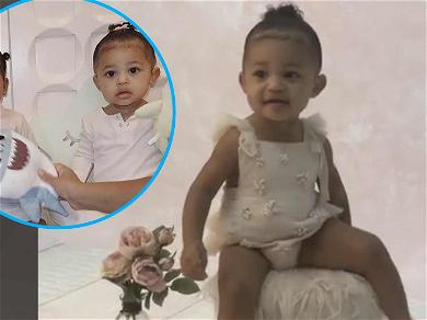 Hear Kylie Jenner's Daughter Stormi Say Her Own Name & True's Too!