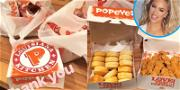 Popeyes Answers Khloé Kardashians Craving with Special Delivery