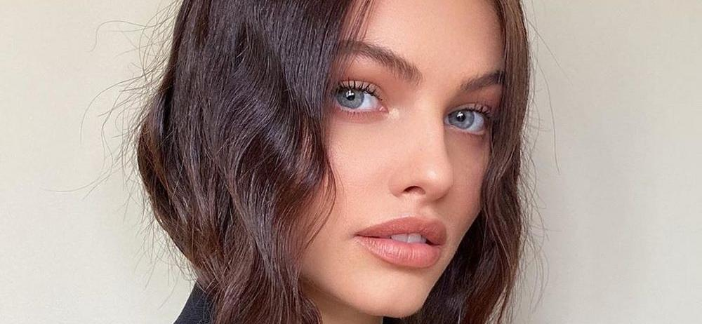 'World's Most Beautiful Girl' Thylane Blondeau Opens Coat For Tube Top Flash