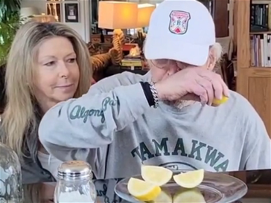 Chevy Chase Recreates Famous 'Caddyshack' Tequila Scene With His Wife!