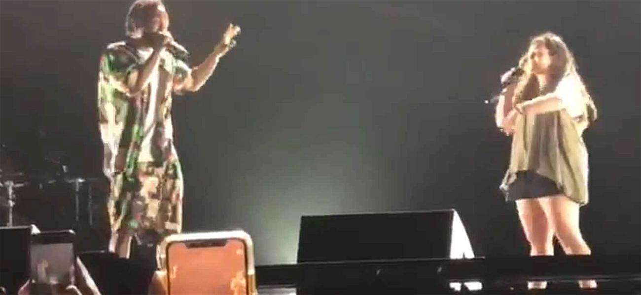 Kendrick Lamar Shuts Down White Fan Onstage After She Drops the N-Word