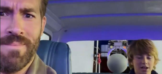 Ryan Reynolds Posts 12-Year-Old Reciting Profanity Filled Deadpool Monologue?