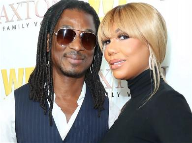 Tamar Braxton's Boyfriend David Adefeso All Smiles With Her Son Days Before Filing Restraining Order