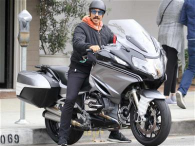 Anthony Kiedis Goes Road Trippin' On His Motorcycle