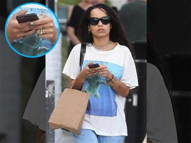 Zoë Kravitz Has Been Casually Rocking Her Engagement Ring for Months