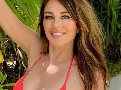 A Reminder Of 'That' Safety Pin Dress Elizabeth Hurley Wore