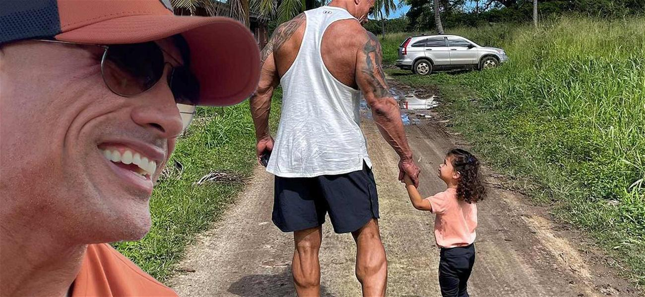 Dwayne 'The Rock' Johnson Says 'Every Man Needs A Daughter' In Sweet Tribute