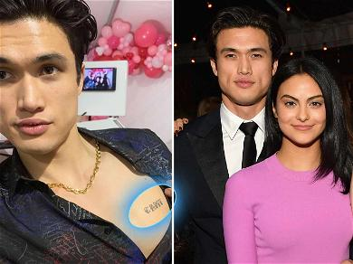 'Riverdale' Star Charles Melton Got His Girlfriend Camila Mendes' Name Tattooed on His Chest