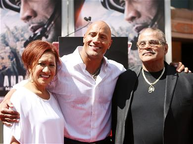 Fans Support The Rock As News Spreads Of His Dad's Death