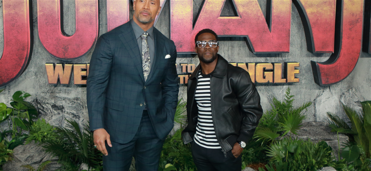 The Rock Sends Love to His 'Brother' Kevin Hart After Scary Car Crash