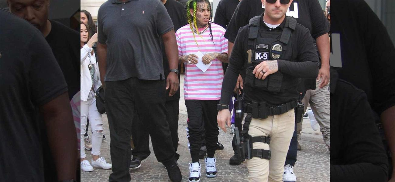 Tekashi 6ix9ine Unfazed By Shooting, But Rolling With Hired Muscle in Beverly Hills