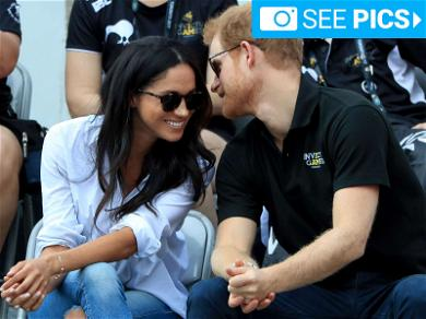 Prince Harry and Meghan Markle Get Cozy North of the Border