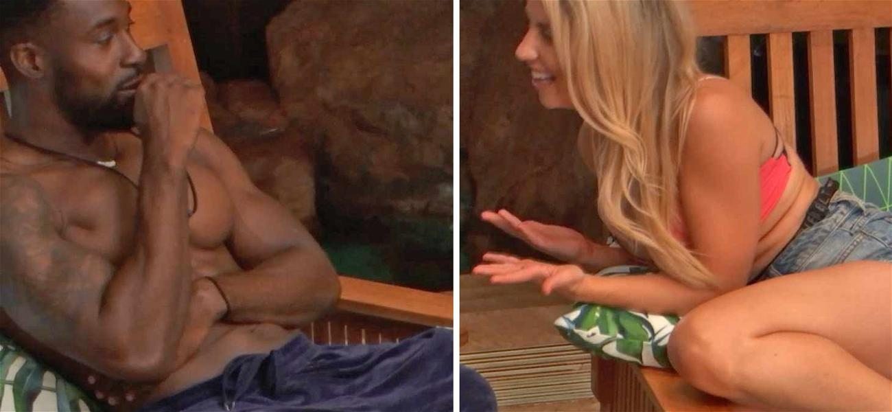 'Temptation Island' Contestant Tries to Avoid Temptation in Sneak Peek: 'Please Do Not Touch Me'