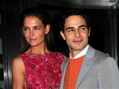 Zac Posen Enlists 'Dear Friend' Katie Holmes for NYFW Collection