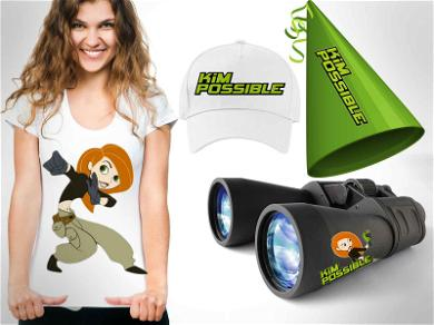 What the Sitch?!  Kim Possible Merch Headed Your Way