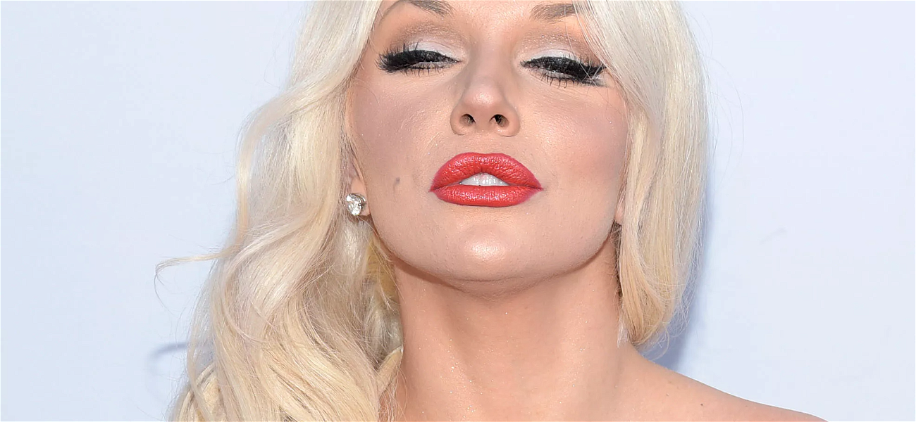 Courtney Stodden Slammed By Instagram For 'Giving Herself Away For Free' Over Booby Pic