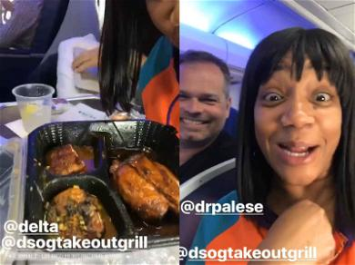 Delta Is Cool With Tiffany Haddish Bringing Salmon on a Plane